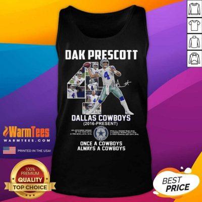 Good Dak Prescott 4 Dallas Cowboys Tank Top