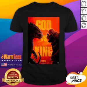 Good Godzilla Vs Kong 2020 Poster Shirt