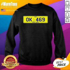 Novelty New York Number Plate SweatShirt