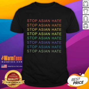 Good Stop Asian Hate Vintage Relaxed Shirt