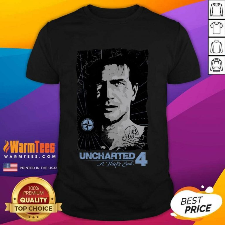 Uncharted Pirate Portrait Shirt