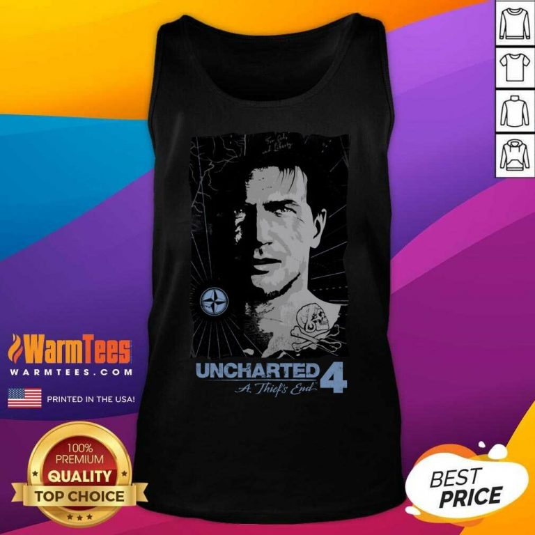 Uncharted Pirate Portrait Tank Top