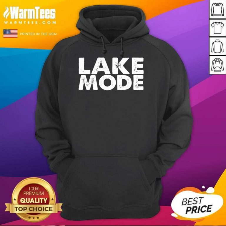 Hot Lake Mode Over The Moon Positive 46 Hoodie