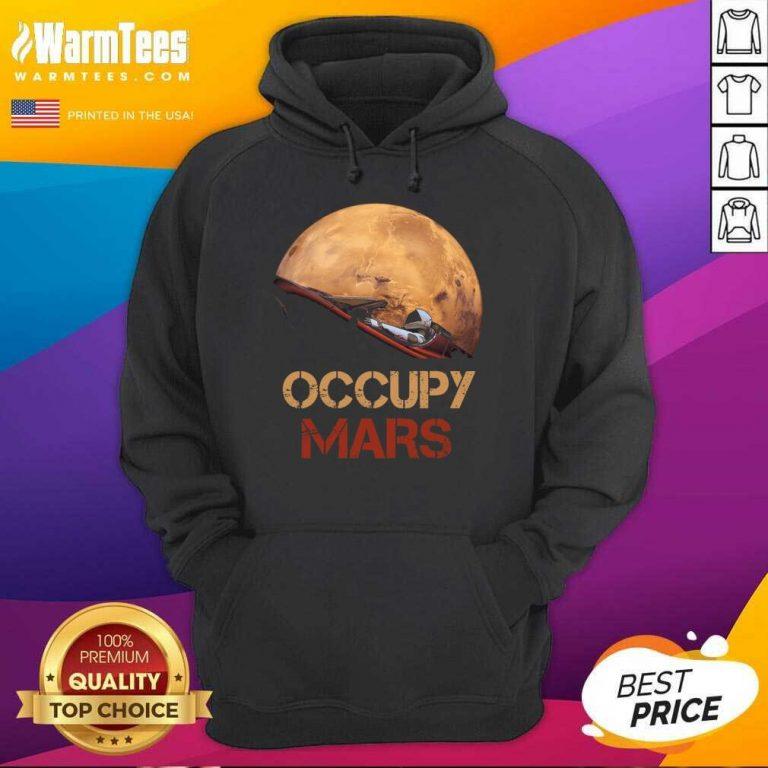 The Occupy Mars Starman Hoodie