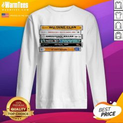 Wu-tang Sticker The Wu Tapes Hand-illustrated SweatShirt