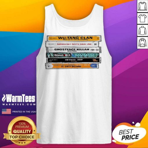 Wu-tang Sticker The Wu Tapes Hand-illustrated Tank Top