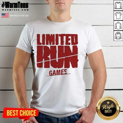 Nice Limited Run Games Relaxed 56588 Shirt