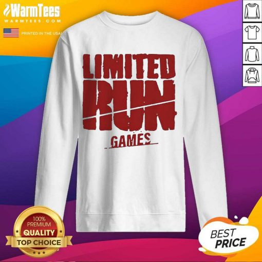 Nice Limited Run Games Relaxed 56588 Sweatshirt