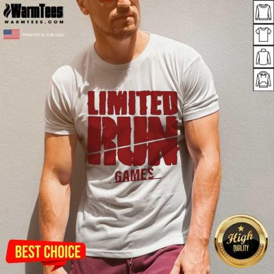 Nice Limited Run Games Relaxed 56588 V-neck