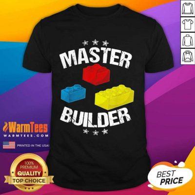 Nice Master Builder Overjoyed 456 Shirt