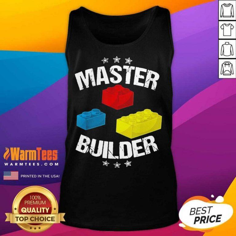 Nice Master Builder Overjoyed 456 Tank Top