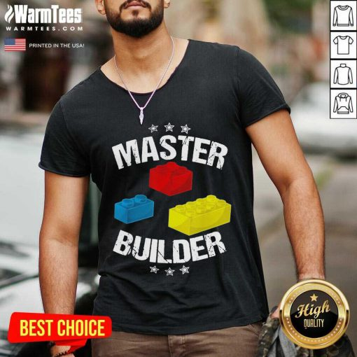 Nice Master Builder Overjoyed 456 V-neck