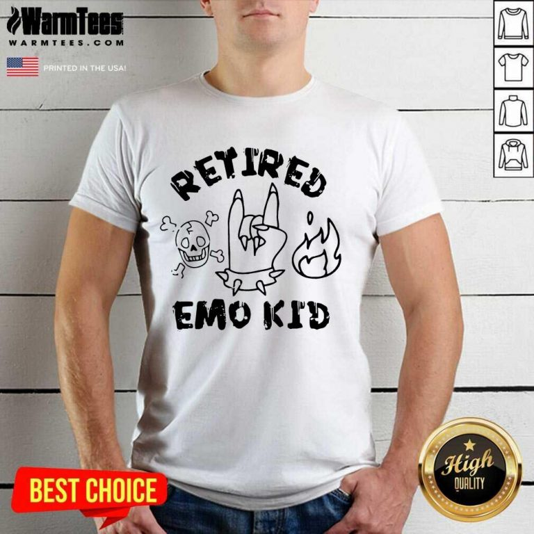Nice Retired Skull Demons Hand Kid 56 Shirt
