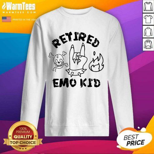 Nice Retired Skull Demons Hand Kid 56 Sweatshirt