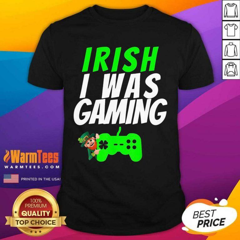 Video Gamer Saint Patricks Day Gaming St Pattys Day Shirt