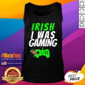 Video Gamer Saint Patricks Day Gaming St Pattys Day Tank Top