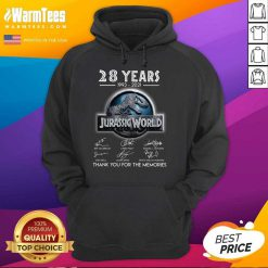 Official 28 Years Great Jurassic World Hoodie