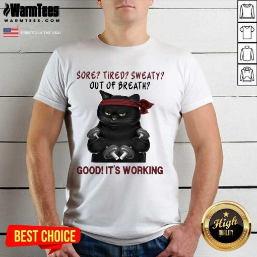 Official Black Cat Breath Working 56 Shirt