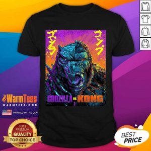 Original Godzilla Vs King Kong 21 Style Shirt