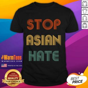 Original Stop Asian Hate LGBT Relaxed Shirt