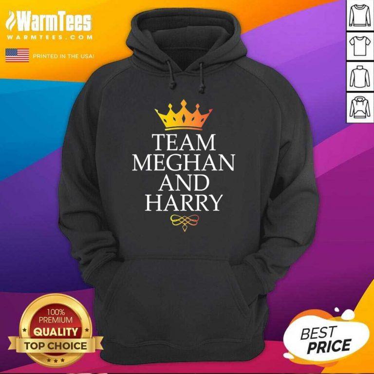 Original Team Meghan And Harry Great 4 Hoodie