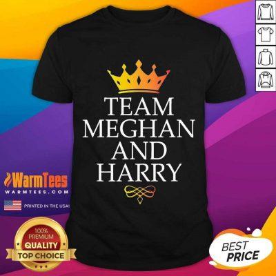 Original Team Meghan And Harry Great 4 Shirt