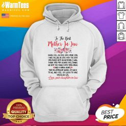 To The Best Mother In Law Hoodie