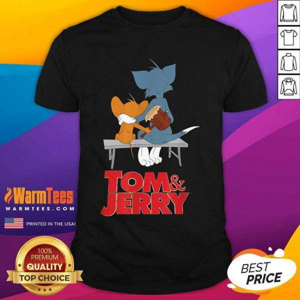 Tom And Jerry Movie Parkbench Shirt