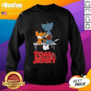 Tom And Jerry Movie Parkbench SweatShirt