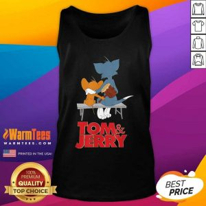 Tom And Jerry Movie Parkbench Tank Top