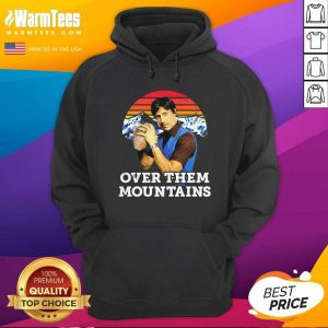 Uncle Rico Over Them Mountains Vintage Hoodie