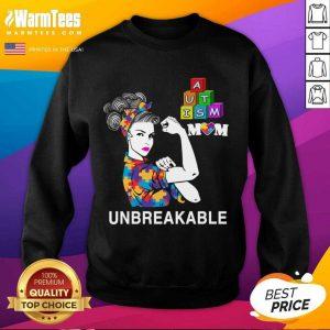 Autism Mom Unbreakable Autism Awareness SweatShirt