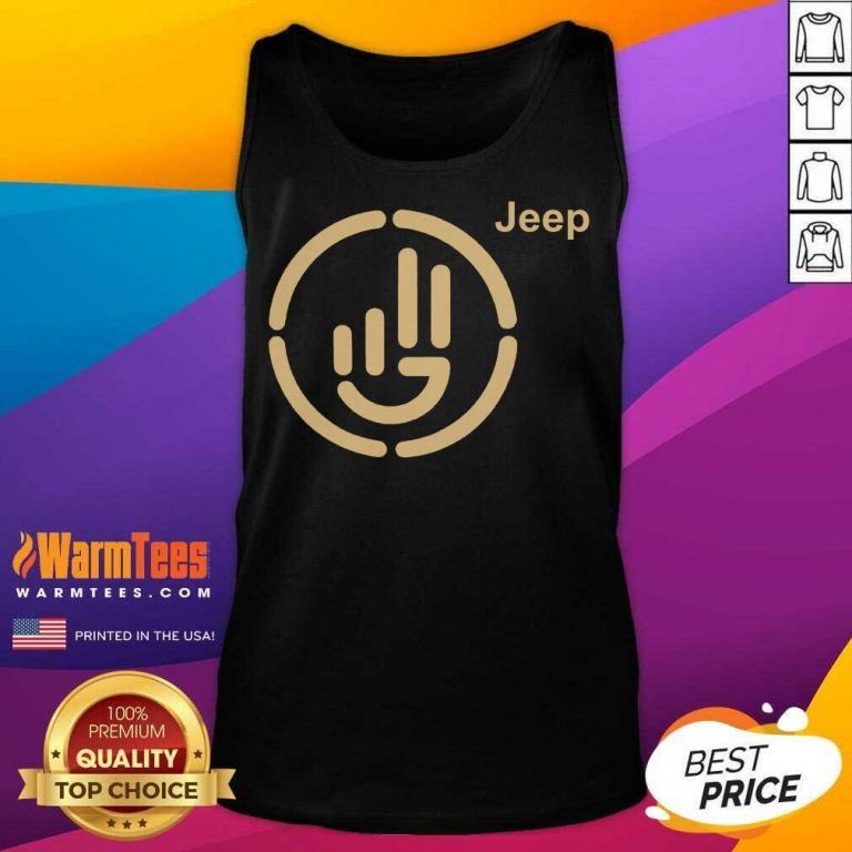 Perfect Jeep Wave Cloth Tank Top