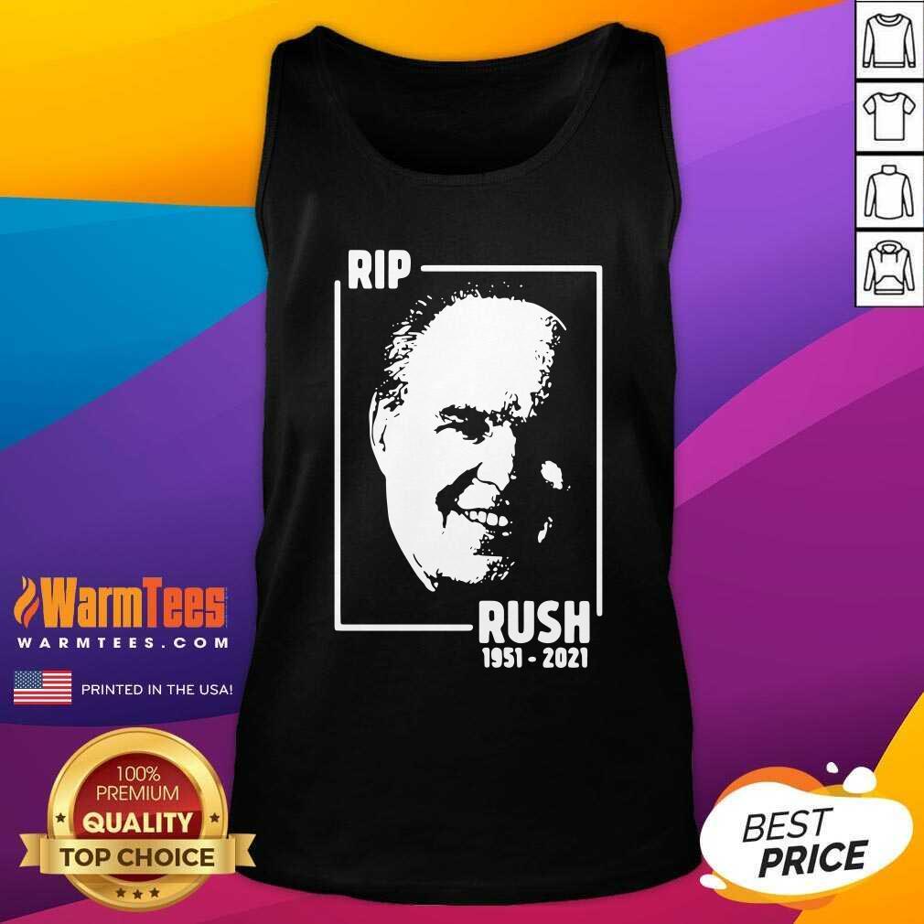 Rip Rush Limbaugh 1951 2021 Tank Top