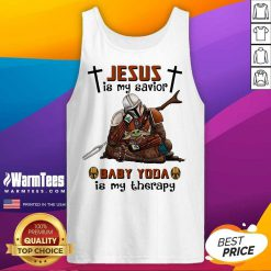 Perfect Star Wars Jesus Mandalorian 25 Tank Top