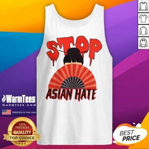 Perfect Stop Asian Hate Japanese girl Tank Top