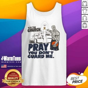 Premium Church Pray Guard Me Terrific Tank Top