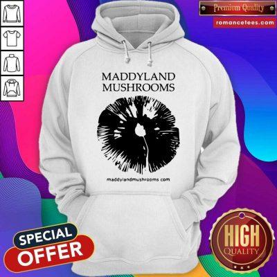 Maddyland Mushrooms With Black Image Hoodie