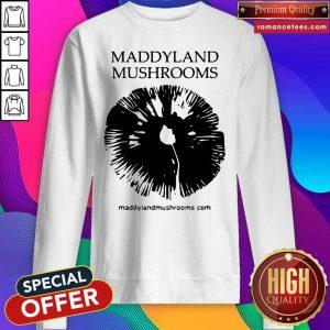Maddyland Mushrooms With Black Image SweatShirt