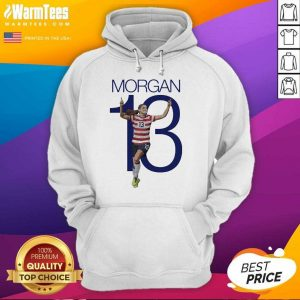 Premium Morgan Over The Moon Great 13 Hoodie
