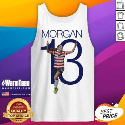 Premium Morgan Over The Moon Great 13 Tank Top