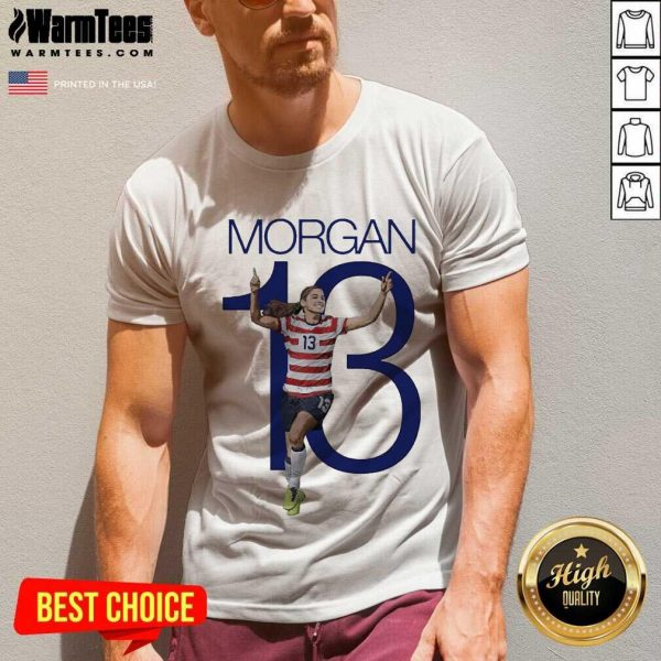 Premium Morgan Over The Moon Great 13 V-neck