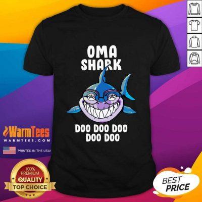 Oma Shark Doo Doo Doo Mother Day Shirt
