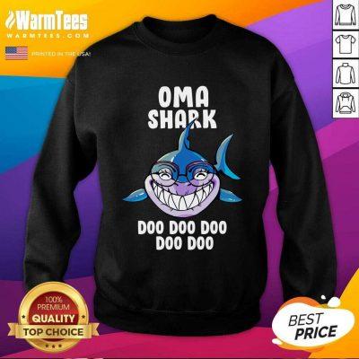 Oma Shark Doo Doo Doo Mother Day SweatShirt