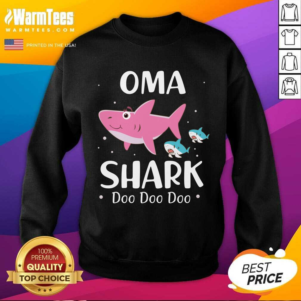 Oma Shark Doo Doo Mother Day SweatShirt