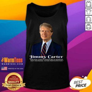 Premium President Jimmy Carter Great 46 Tank Top