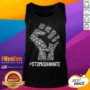 Premium Stop Asian Hate Hand Brothers Tank Top