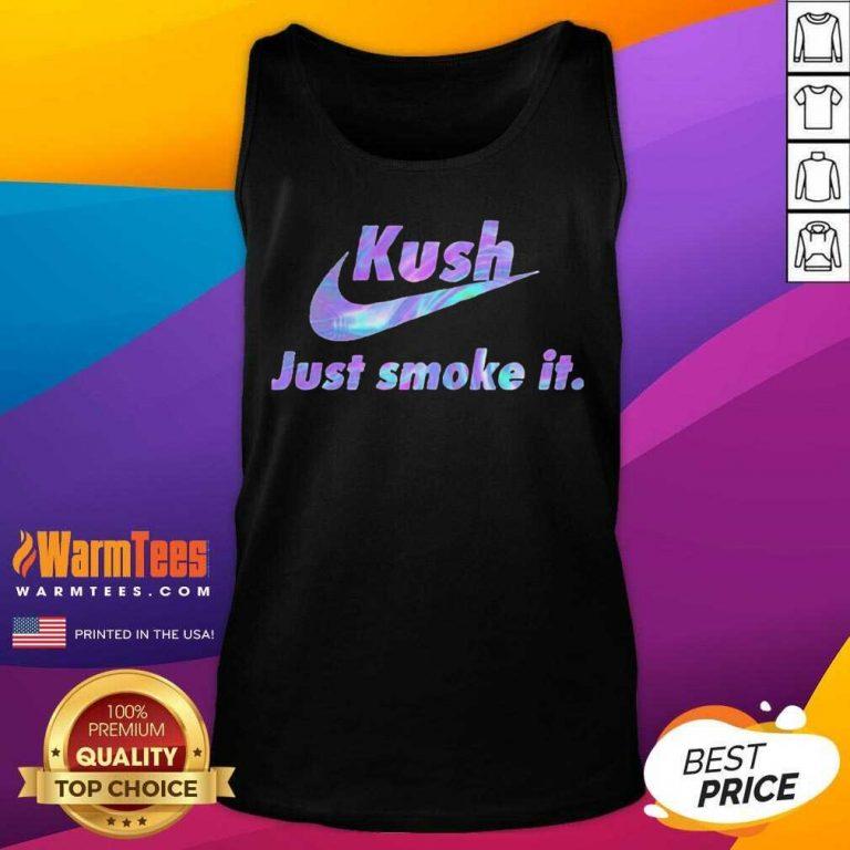 420 Nike Kush Just Smoke It Tank Top