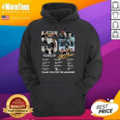 58 Years Of 007 Thank You For The Memories Signatures Hoodie