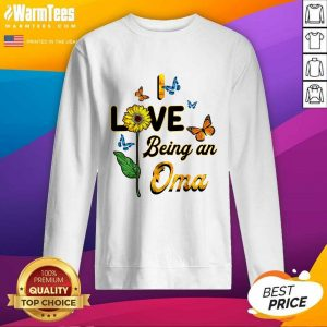 I Love Being An Oma Sunflower Mother Day SweatShirt